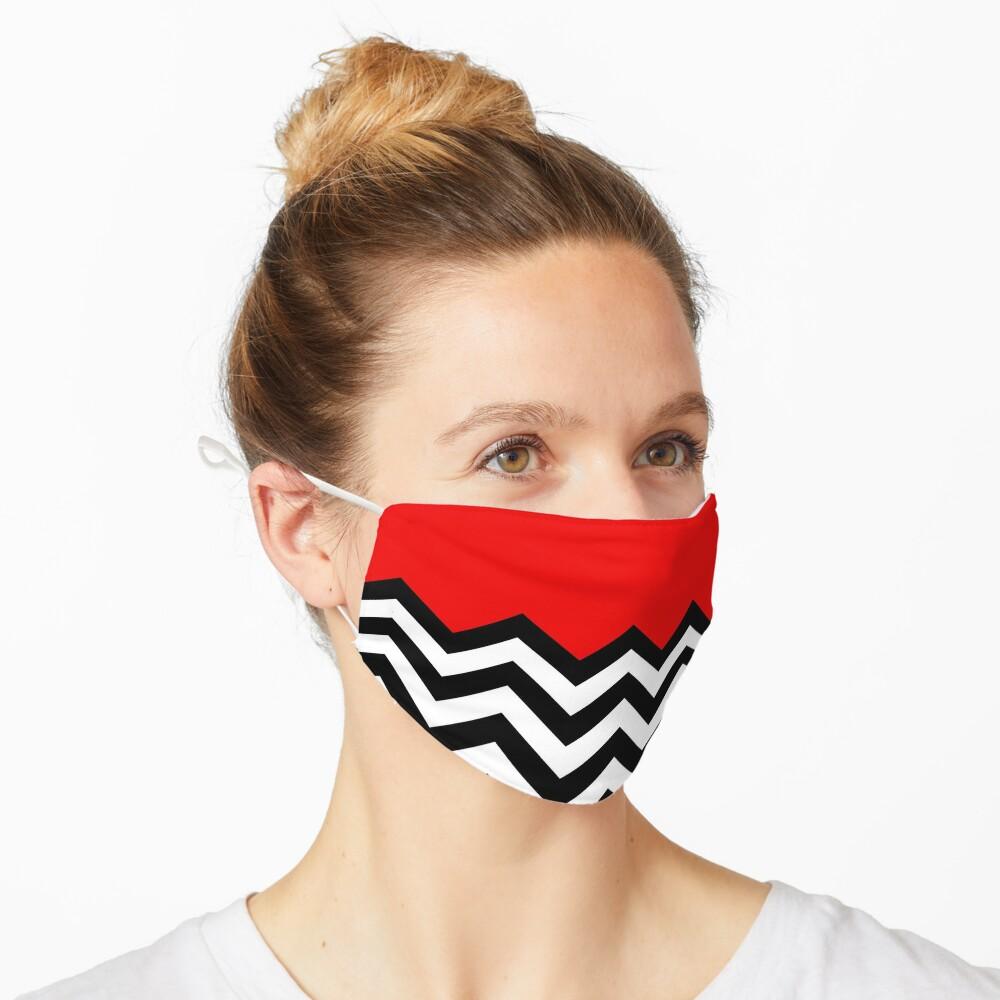 Twin Peaks - Black Lodge Pattern Mask