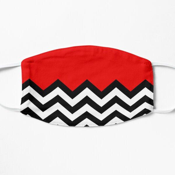 Twin Peaks - Black Lodge Pattern Flat Mask