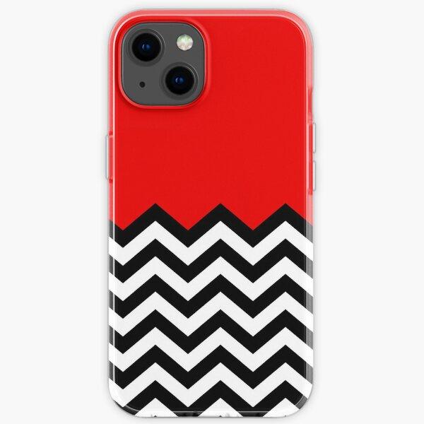 Twin Peaks - Black Lodge Pattern iPhone Soft Case