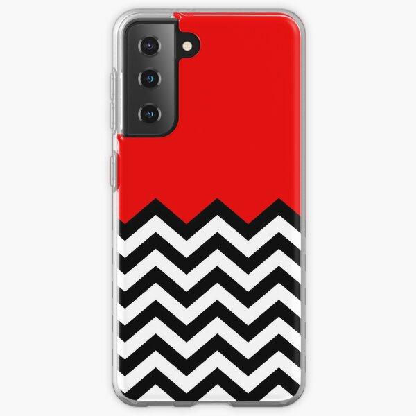 Twin Peaks - Black Lodge Pattern Samsung Galaxy Soft Case