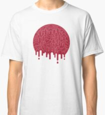 Painted Red Classic T-Shirt