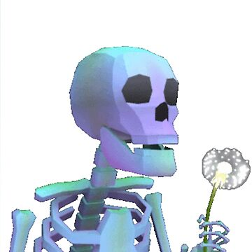 skeleton with wishes by NoahandSons