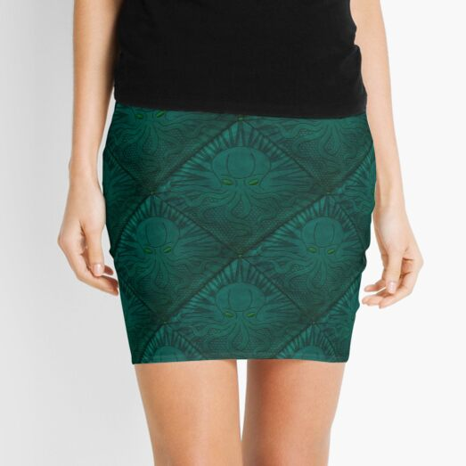 The Call of Cthulhu - H. P. Lovecraft Cthulhu Mythos Literary Art for Book Lovers Mini Skirt