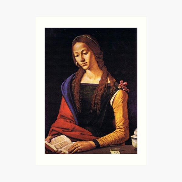 Portrait of Mary Magdalene by Piero di Cosimo Art Print