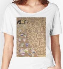 Gustav Klimt - Expectation - Klimt - Women's Relaxed Fit T-Shirt