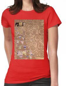 Gustav Klimt - Expectation - Klimt - Womens Fitted T-Shirt