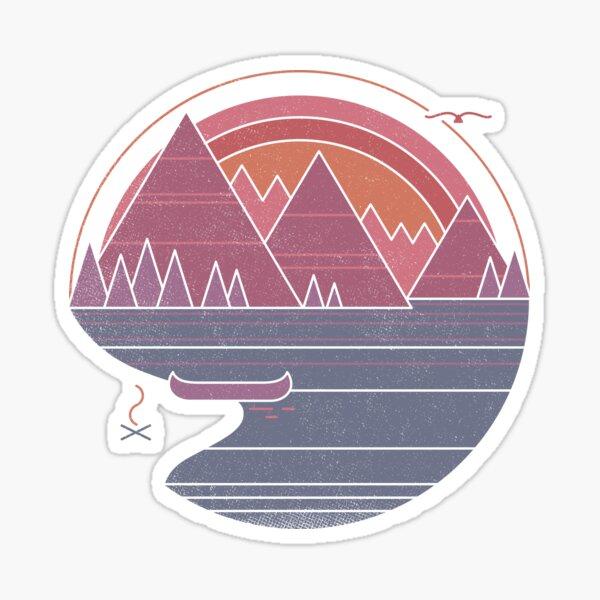 Die Berge rufen Sticker