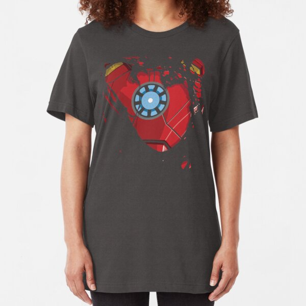 Ripped Reactor Slim Fit T-Shirt