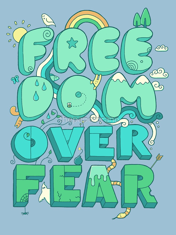 Freedom Over Fear | Unisex T-Shirt