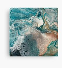 Sq3 Abstract Modern Painting Canvas Print