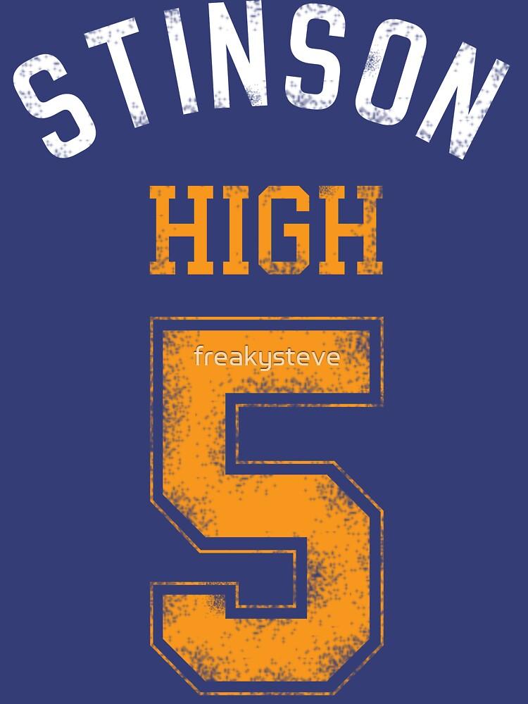 TShirtGifter presents: STINSON HIGH 5 (second version)   Unisex T-Shirt