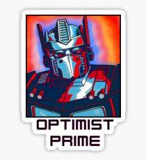 Optimist Prime! Sticker