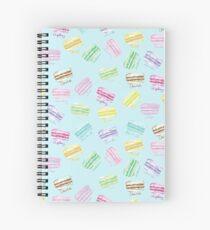 Macaron Macaroons Spiral Notebook