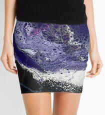 Sq4 Abstract Modern Painting Mini Skirt