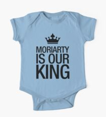 MORIARTY IS OUR KING (black type) Kids Clothes