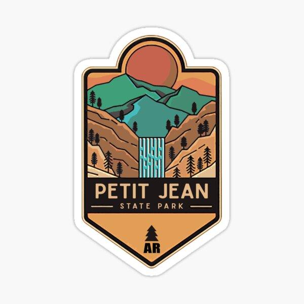 Petit Jean State Park Arkansas State Park Wildtier Zeder fällt Sticker