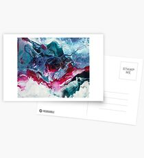 Arcanum - Modern Abstract painting Postcards