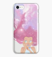 Galaxy hair iPhone Case/Skin