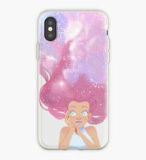 Galaxy hair iPhone Case