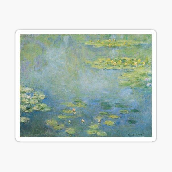 Claude Monet - Seerosen Sticker