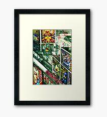 Suburb Framed Print