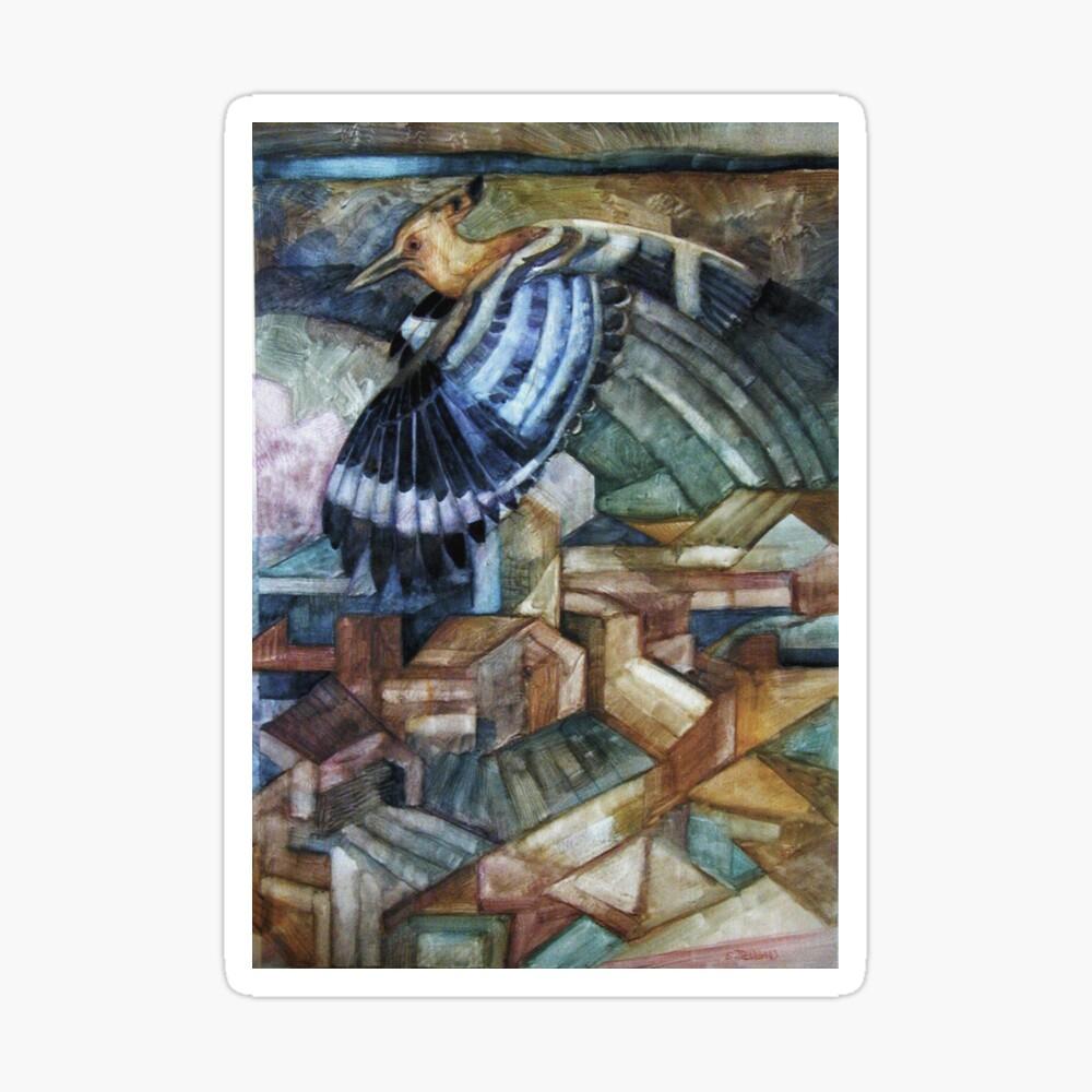 hoopoe (Upupa epops) Sticker