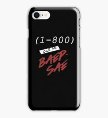 (1-800) Call me Baepsae iPhone Case/Skin