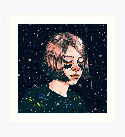 Close your eyes Art Print