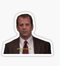 Toby Flenderson The Office Sticker