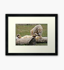 You Alright Mate Framed Print