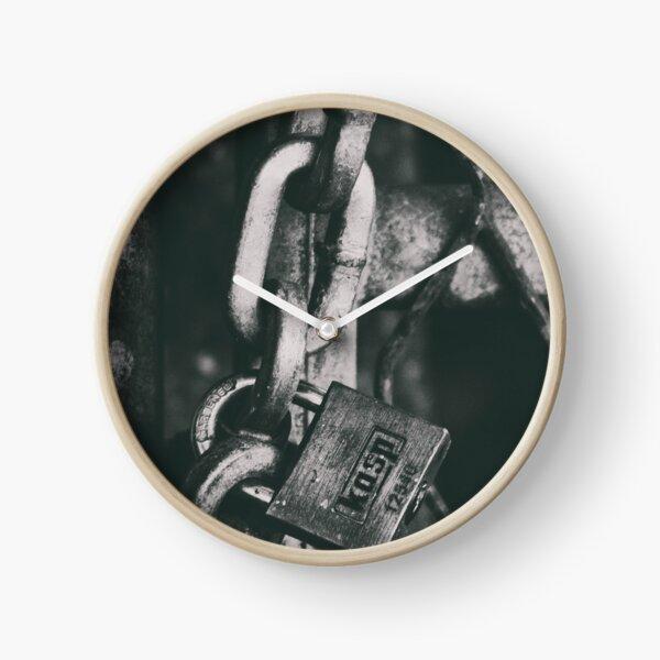 Padlock Clock