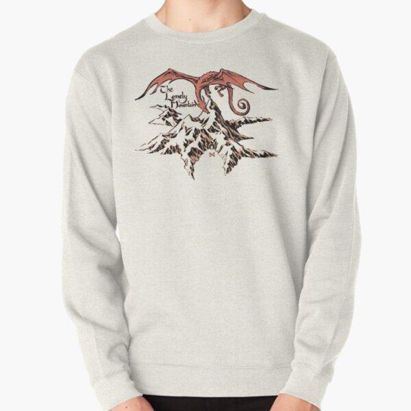 Lonely dragon Pullover Sweatshirt
