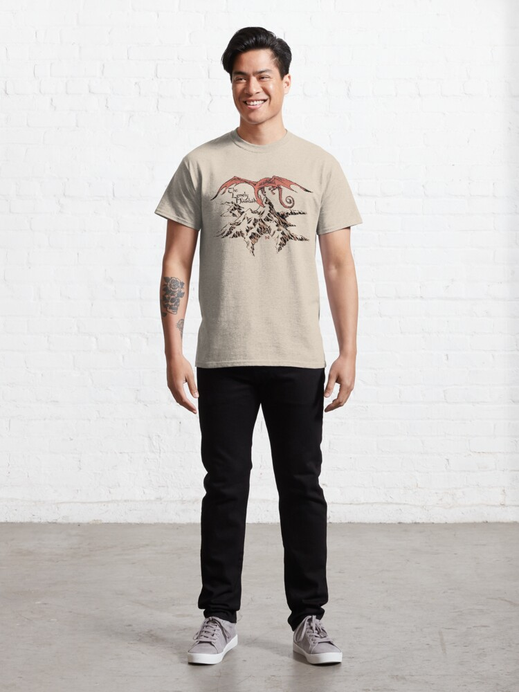 Alternate view of Lonely dragon Classic T-Shirt