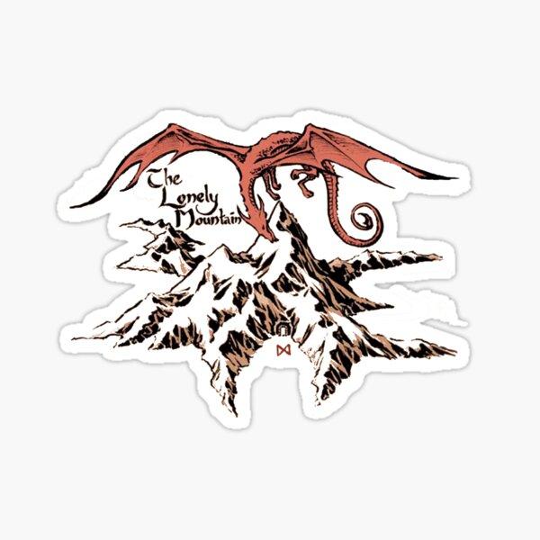 Lonely dragon Sticker