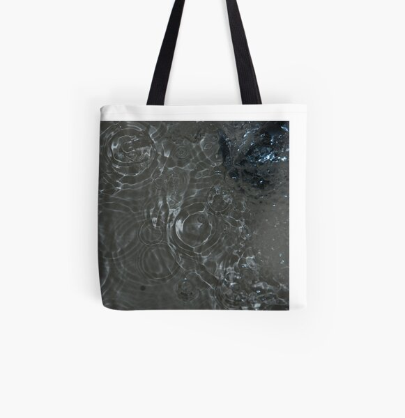Bubbles in the Sink, Vancouver, British Columbia All Over Print Tote Bag