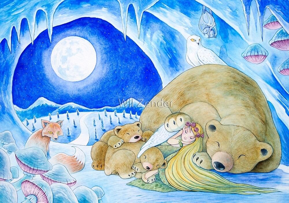 Winter Night by Wil Zender