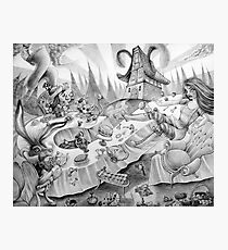 A mad tea-party Photographic Print