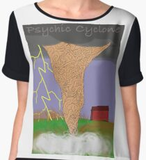 Psychic Cyclone Barnstormer Chiffon Top