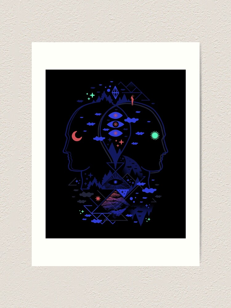 Alternate view of Individualistic  Art Print