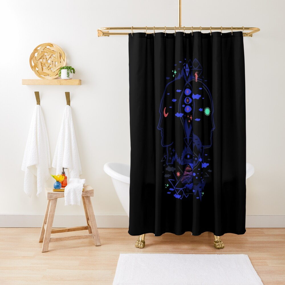 Individualistic  Shower Curtain