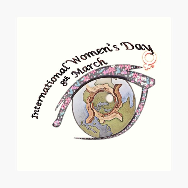 International Women's Day Art Print