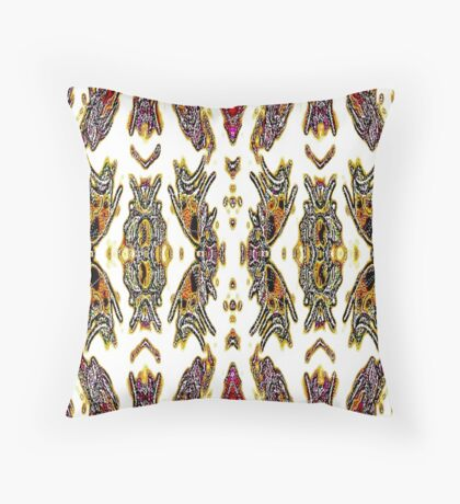 THE BEAUTY OF BEETLES & BUGS Throw Pillow