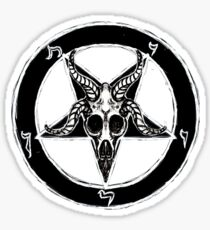 Baphomet Pentagram Sticker