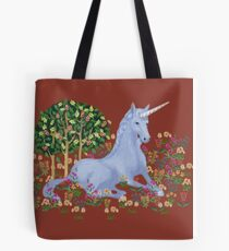 Medieval Unicorn Tote Bag