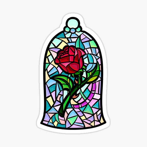 Rose of Enchantment Sticker