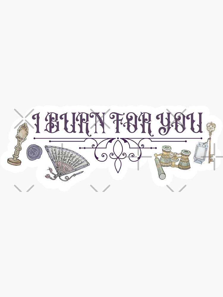 I Burn for You - Regency Illustration by WitchofWhimsy