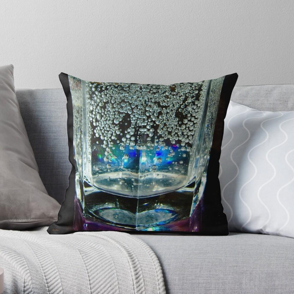 Heart in a Glass, Bolzano/Bozen, Italy Throw Pillow