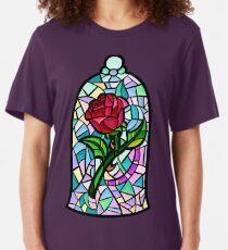Rose of Enchantment Slim Fit T-Shirt