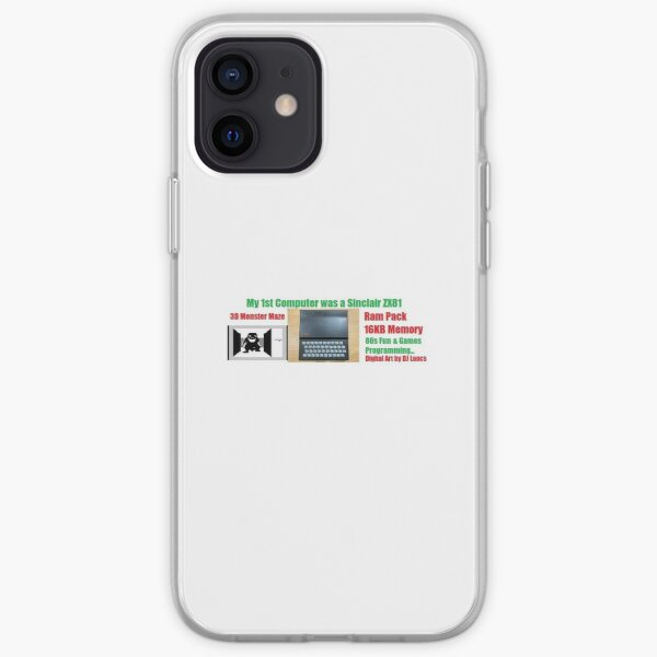 My First Computer Was A Sinclair ZX81 iPhone Soft Case