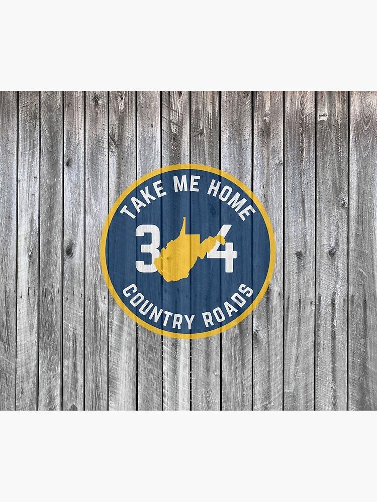 West Virginia State Map WV Take Me Home Country Roads 304 Barn Wood by rbaaronmattie